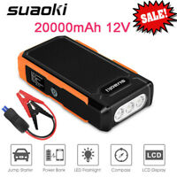 Suaoki 20000mAh Car Jump Starter Emergency Booster Battery Charger Power Bank US
