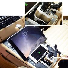 Dual USB Car Charger Splitter Cigarette Lighter Socket 150W 3.1A for Cell Phone