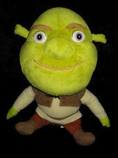 Doudou Peluche Personnage Shrek l'Ogre vert et marron Dreamworks Big Headz 25 cm