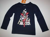 NEW Gymboree Girls Oh Sweet Holiday Graphic Tee Top 2T 3T 4T 5T Glitter Tree