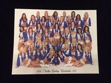 AUTHENTIC 2010-2011 DALLAS COWBOYS CHEERLEADERS 8.5 x 11 Photo Picture