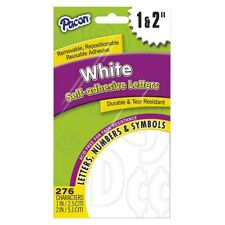 Pacon Reusable Self-adhesive Letters - Uppercase Letters, Punctuation (pac51664)
