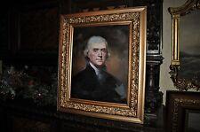Museum Quality Thomas Jefferson    Oil Painting