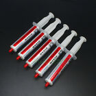 5pcs 20g White Silicone Compound Thermal Conductive Grease Paste CPU GPU Cooling