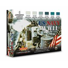 Lifecolor CS24 US Navy WWII Set 1 Acrylfarben 6x22 ml (100ml=13,64€)