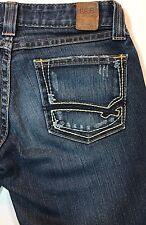 "BKE Star Stretch Buckle Jeans Women's 25 25""x19"" Capri Cotton Polyester Spandex"