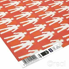 New Doctor Who 5 Sheets Of Cyberman Wrapping Paper Gift Wrap Official
