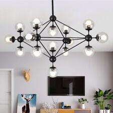 Large Chandelier Lighting Kitchen Pendant Light Modern Ceiling Lights Black Lamp