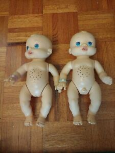 Vintage 2006 Hasbro Twin Baby Alive Wets N Wiggles.Read Details