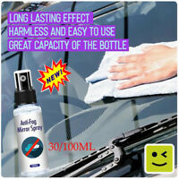 Car Anti-fog Agent Liquid Glass Nano Hydrophobic Coating Spray