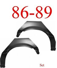 86 89 Honda Accord 2 Door Rear Upper Wheel Arch Set Repair Panel