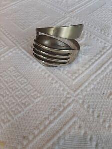 Metal Fork And Spoon Bangle