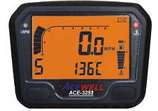 Acewell 3252 DIGITALE Dash Speedo Orologi Kitcar QUAD AUTO