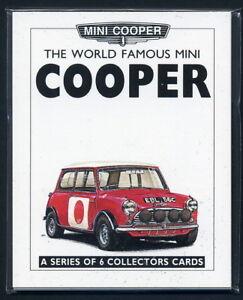 MINI COOPER - Original Collectors Cards - MkI MKII MKIII Works RSP Commemorative