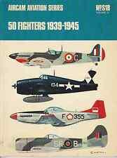 ARCO-AIRCAM AVIATION SERIES 50 FIGHTERS 1939-1945 NO.S18(VOL.2) BOOK LIVRE