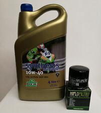 Rock Oil Synthesis and Hiflo Oil Filter Kit - Honda CBR1000 RA-A,B,C,D,E,F,G