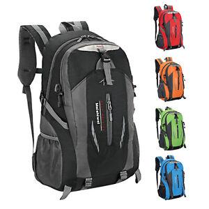 Men Women Travel Nylon Backpack Rucksack Camping Laptop Hiking School Book Bag