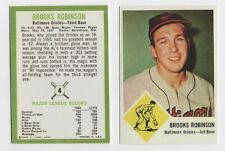 NEW  1963 FLEER REPRINT  BROOKS ROBINSON BALTIMORE ORIOLES