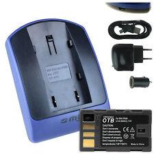 Chargeur+Batterie (USB) BN-VF808 pour JVC GZ-MS120, MS124, MS125, MS130