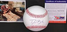 David Bote Chicago Cubs Autographed Signed Baseball PSA WITNESS 1