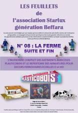 STARLUX Feuillet n°08 72pages sur les FERMES Plasticobois et personnages O et HO