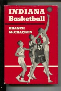 Indiana Basketball 1955-by Branch McCracken-Head Coach-1st edition-dust jacke...