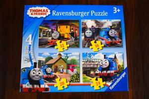 Ravensburger Thomas and Friends Jigsaw - 4 in a box - Puzzles Bertie/Toby/Duncan