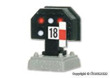 Viessmann 4018 HO Licht-Sperrsignal, nieder Neuware