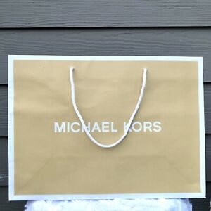 """NEW MICHAEL KORS Small Paper Shopping Gift Bag - Size: 8""""x10""""x4"""""""