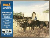 IMEX 513 - FAR-WEST Chuck Wagon and Prairie Schooner - BOX  1/72  RARE ON SPRUE
