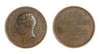 s1334_1) Belgio Medal 1838 Conte Félix de Mérode (1791-1857) politic Defect Ø 51