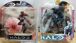 McFarlane Halo 3 Jackal Major (Series 3) & Brute Bodyguard (Series 6) (Set of 2)