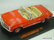 1968 MERCEDES-BENZ 280 SL PAGODA RED BY ANSON OLD RELEASE 1:18 BRAND NEW IN BOX