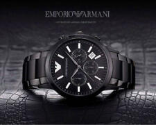 Emporio Armani AR2453 Mens Chronograph Watch - Black