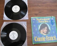 "Connie Francis - 2-LP Set - ""Sentimental Favorites - A Sentimental Treasury"""