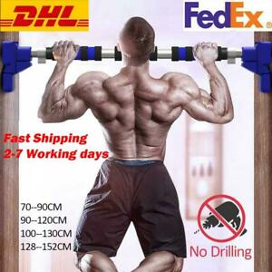✅Door Pull Up Bar Home Exercise Workout Training Gym Chin Up Adjustable Fitness
