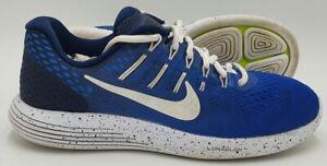 Nike Lunarglide 8 Mesh Running Trainers 884766-992 Blue/White UK6.5/US7.5/EU40.5
