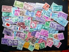 U S A  MISCELLANEOUS COLLECTION OF 100 ALL DIFFERENT STAMPS (1)GOOD USED