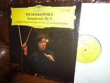 "Tschaikowsky Symphonie No 5, LSO, ABBADO, DG 2530198 Stereo LP, 12"" 1972"