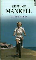 Livre de poche roman Daisy Sisters Henning Mankell  book