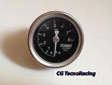 Manometro pressione benzina Tomei auto Racing Fuel pressure gauge Tomei Racing