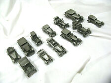 7 lbs Pewter 1907-1930 Lot of 12 Danbury Mint England Classic Cars Of The World
