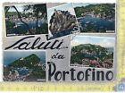 Cartolina - Postcard - Gruss aus - Saluti da - Multivisione - Portofino - 1956