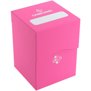 Deck Holder 80+ Card Deck Box: Pink GameGenic Asmodee NEW