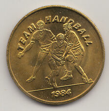 1984 Los Angeles Olympics SCRTD transit token - Team Handball - CA450AH