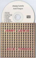 JENNY LEWIS Acid Tongue 2008 UK 11-track promo test CD