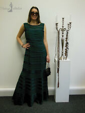 Phase Eight elegante Glamour Design noche teatro vestido Maxi vestido estuche gr:44 verde