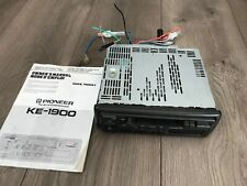 Pioneer KE-1900 Cassette Tape AM/FM Radio Car Stereo with Cords - Untested