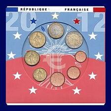 COFFRET DE LA MONNAIE DE PARIS SERIE 2012 EURO FRANCE B.U