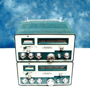 Vintage Heathkit Comanche MR-1 Transceiver & Cheyenne MT-1 Transmitter  ~ Clean